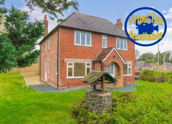 Thumbnail 4 bed detached house for sale in Montford Bridge, Shrewsbury