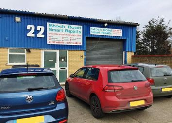 Parking/garage for sale in Robert Leonard Industrial Site, Stock Road, Southend-On-Sea SS2