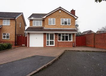 Thumbnail 4 bed detached house for sale in Snowdon Way, Willenhall