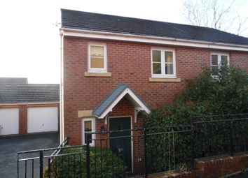 Thumbnail 3 bed semi-detached house to rent in Glas Y Gors, Aberdare