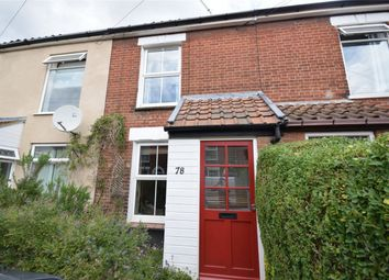 Thumbnail 2 bed terraced house for sale in Armes Street, Norwich, Norfolk
