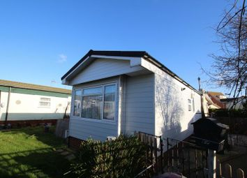 Thumbnail 1 bed mobile/park home for sale in Dome Caravan Park, The Spur, Lower Road, Hockley