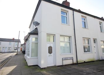 Thumbnail 3 bedroom end terrace house for sale in Jameson Street, Blackpool