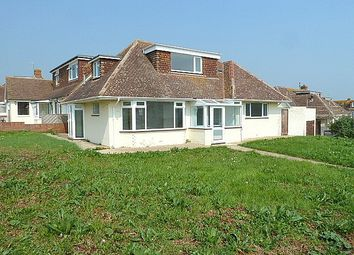 Thumbnail 4 bedroom detached bungalow to rent in Beach Close, Seaford