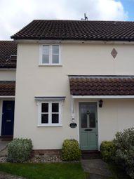 Thumbnail 2 bed terraced house for sale in 20 Deben Rise, Debenham, Stowmarket