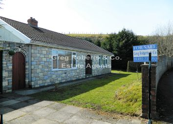 Thumbnail 3 bed detached bungalow for sale in Western Crescent, Tredegar, Blaenau Gwent