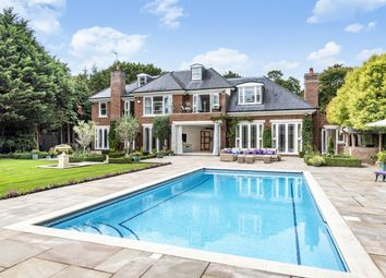 Thumbnail 7 bed detached house for sale in The Quillot, Burwood Park, Hersham, Walton-On-Thames