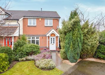 Thumbnail 3 bed semi-detached house to rent in Orchard Close, Shepshed, Loughborough