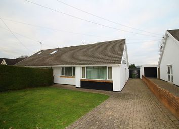Thumbnail 3 bed semi-detached bungalow for sale in Heol Dowlais, Efail Isaf Pontypridd