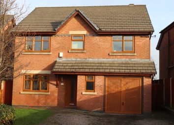 Thumbnail 4 bed detached house for sale in Charnock Gardens, Penwortham, Preston