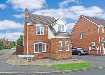 Thumbnail 3 bed link-detached house for sale in Rochester Close, Mountsorrel, Loughborough