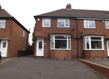 Thumbnail 3 bed end terrace house for sale in Woodnorton Road, Rowley Regis, Birmingham, West Midlands
