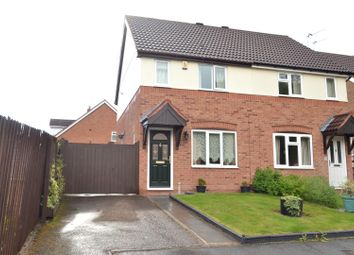 Thumbnail 2 bed semi-detached house for sale in Nelson Close, Shepshed, Loughborough