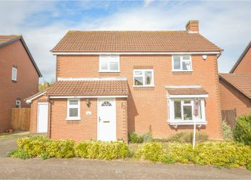 Thumbnail 4 bed detached house for sale in Brett Drive, Bromham