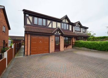 Thumbnail 4 bedroom detached house for sale in Charmouth Close, Birches Head, Stoke-On-Trent