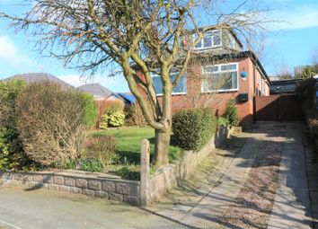 Thumbnail 3 bed detached bungalow for sale in Newfold Crescent, Brown Edge, Stoke-On-Trent