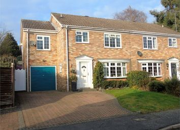 Thumbnail 4 bed semi-detached house for sale in Glebe Close, Lightwater, Surrey