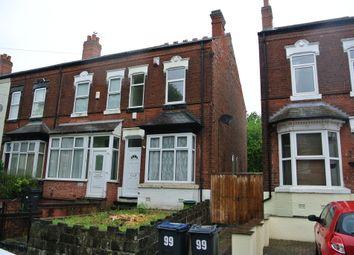 Thumbnail 3 bedroom terraced house to rent in Somerset Road, Erdington, Birmingam