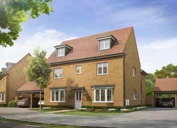 "Thumbnail 5 bedroom detached house for sale in ""Stratford"" at Dorman Avenue North, Aylesham, Canterbury"