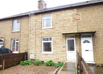 Thumbnail 2 bed terraced house for sale in Wisbech Road, March