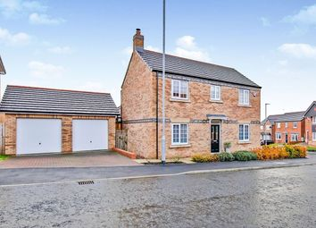 Thumbnail 4 bed detached house for sale in Redmire Drive, Delves Lane, Consett