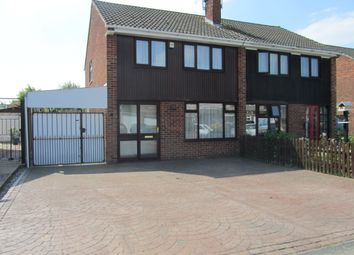 Thumbnail 3 bed semi-detached house for sale in Kirkstone Road, Bedworth, Warwickshire