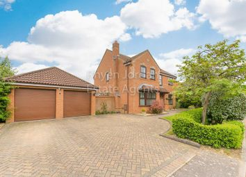 Thumbnail 4 bed detached house for sale in Quilter Meadow, Old Farm Park, Milton Keynes