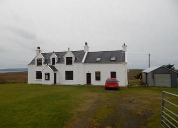 Thumbnail 5 bedroom detached house for sale in Linicro, Kilmuir, Isle Of Skye