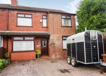 Thumbnail 4 bed semi-detached house for sale in Woodfield Avenue, Bredbury, Stockport