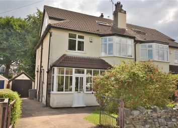 Thumbnail 5 bed semi-detached house for sale in Fitzroy Drive, Oakwood, Leeds