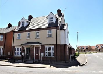 Thumbnail 3 bed town house for sale in Station Street, Holbeach, Spalding