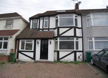 Thumbnail 4 bed end terrace house to rent in Cheriton Avenue, Clayhall, Ilford