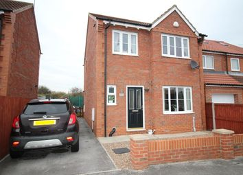 Thumbnail 3 bed detached house for sale in Sandhall Drive, Goole