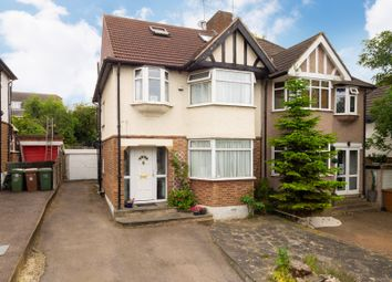 Thumbnail 4 bed semi-detached house for sale in Woodside Road, Sutton, Surrey