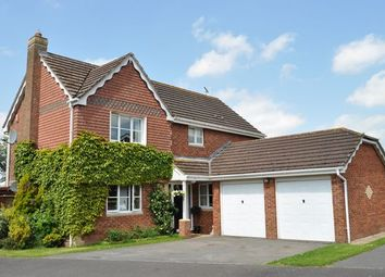 Thumbnail 4 bed detached house for sale in Harpitt Close, Willand, Cullompton