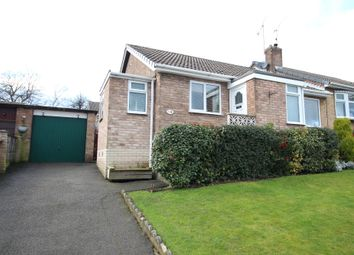 Thumbnail 2 bed semi-detached bungalow for sale in Lime Grove, Swinton, Mexborough
