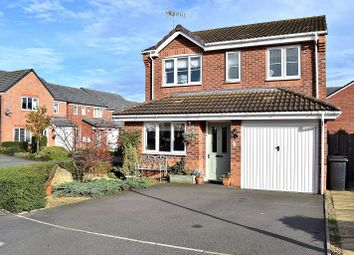 Thumbnail 3 bed detached house for sale in Gadwall Croft, Newcastle
