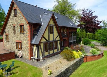 Thumbnail 5 bed detached house for sale in Llwyn Derw, Tregynon, Newtown, Powys