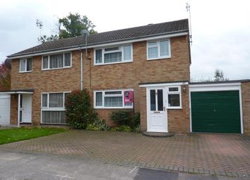 Thumbnail 3 bed semi-detached house to rent in Sarum Crescent, Wokingham