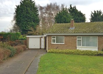 Thumbnail 2 bedroom bungalow to rent in Ellis Close, Cottenham, Cambridge