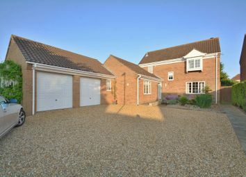 Thumbnail 4 bed detached house for sale in Rembrandt Way, St. Ives