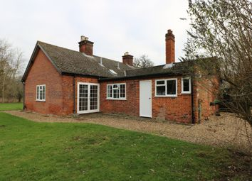 Thumbnail 4 bed detached bungalow to rent in Thelveton, Diss