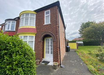 Thumbnail 3 bed semi-detached house for sale in 76 Ridley Avenue, Middlesbrough, Cleveland