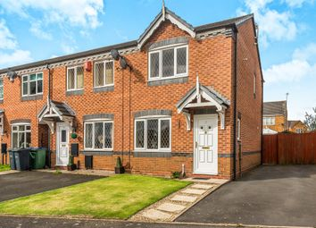 Thumbnail 2 bedroom end terrace house for sale in Beaumont Close, Tipton