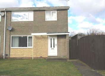 Thumbnail 3 bed semi-detached house for sale in Glenluce Drive, Southfield Green, Cramlington