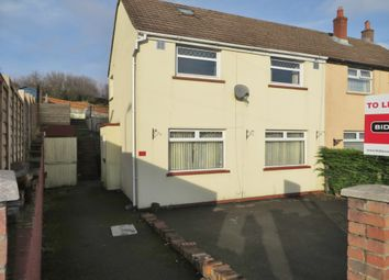 Thumbnail Terraced house to rent in Brynawel, Brynmawr
