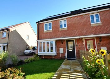 Thumbnail 3 bed property to rent in Millport Drive, Eye, Peterborough