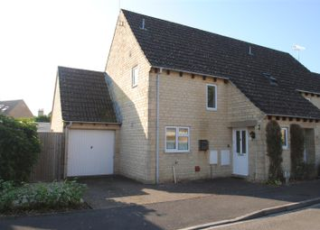 Thumbnail 2 bed semi-detached house for sale in Roberts Close, Stratton, Cirencester