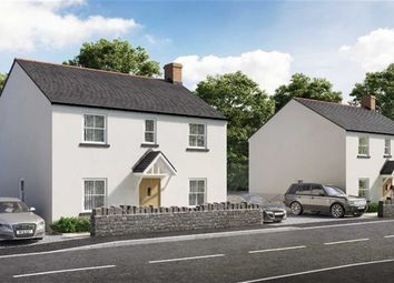 Thumbnail 4 bed detached house for sale in Plot 2, Ynysmeudwy Road, Pontardawe, Swansea, Swansea