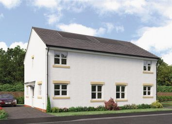 "Thumbnail 3 bed semi-detached house for sale in ""Cairns Semi"" at Brora Crescent, Hamilton"